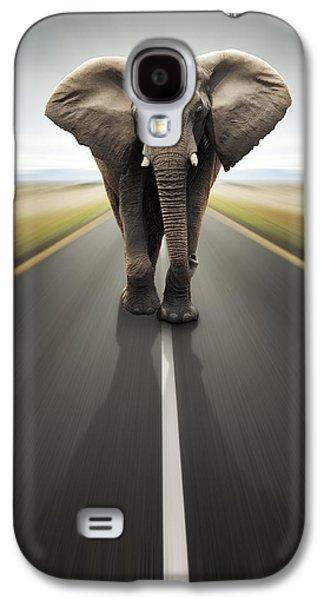Heavy Duty Transport / Travel By Road Galaxy S4 Case by Johan Swanepoel