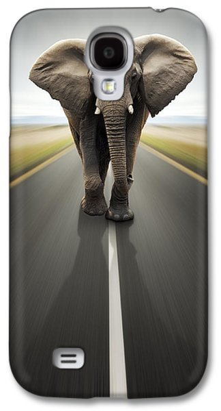 Heavy Duty Transport / Travel By Road Galaxy S4 Case
