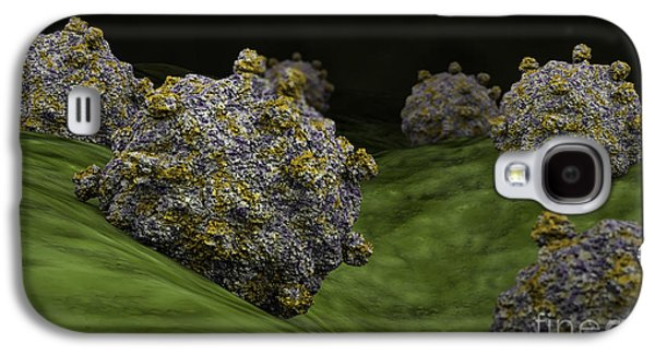 Conceptual Image Of Coxsackievirus Galaxy S4 Case by Stocktrek Images