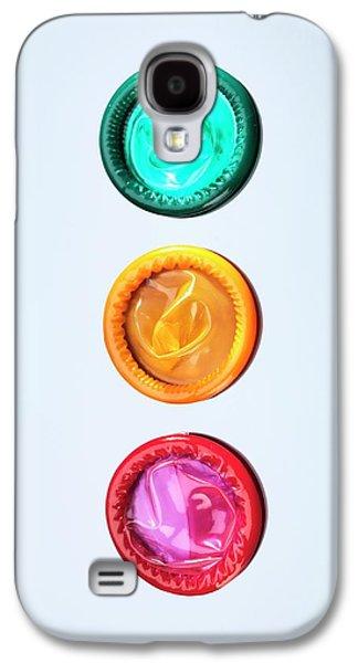 Condoms Galaxy S4 Case by Tek Image