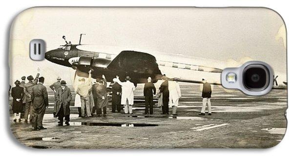 Condor Galaxy S4 Case - Condor Aircraft Before Take-off by Eye On The Reich: German Propaganda Photographs/new York Public Library