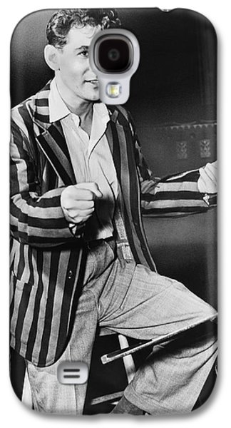 Conductor Leonard Bernstein Galaxy S4 Case