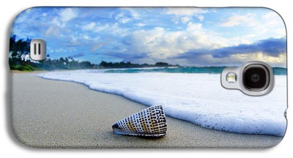 Beach Galaxy S4 Case - Cone Foam by Sean Davey