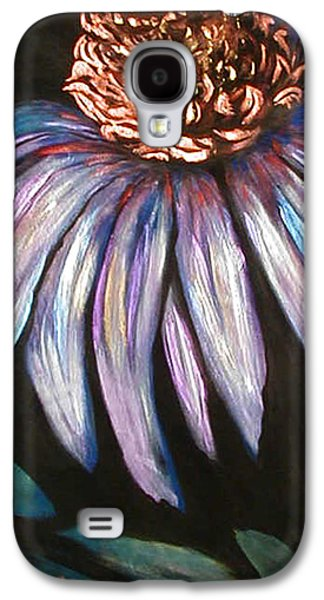 Coneflower Painting Galaxy S4 Case by Art By Lisabelle