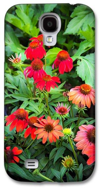 Coneflowers Echinacea Rudbeckia Galaxy S4 Case