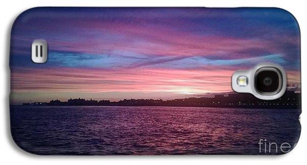 Coney Island Summertime Sunset Galaxy S4 Case by John Telfer
