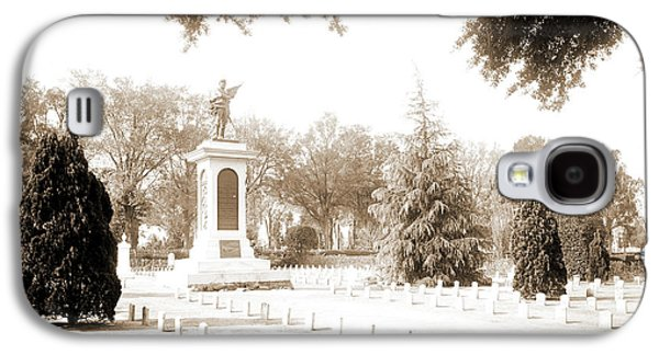 Confederate Monument, Magnolia Cemetery, Charleston Galaxy S4 Case by Litz Collection