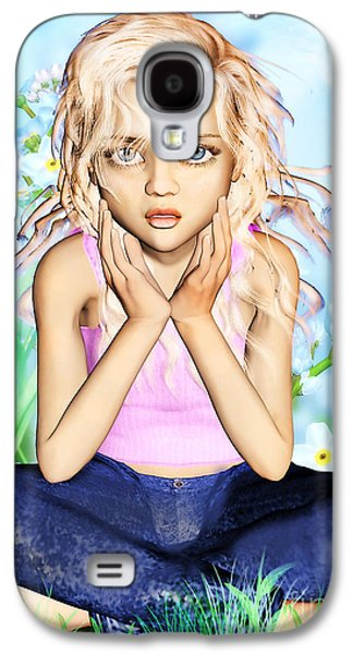 Confused Little Girl Galaxy S4 Case