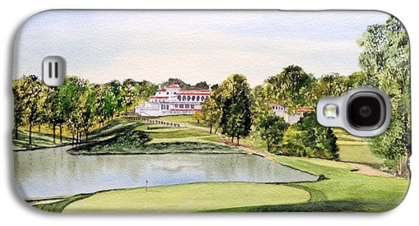 Congressional Golf Course 10th Hole Galaxy S4 Case by Bill Holkham
