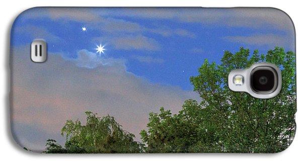 Conjunction Of Venus And Jupiter Galaxy S4 Case by Babak Tafreshi