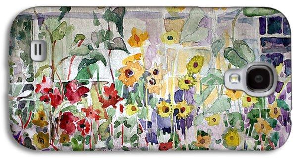Conservatory Sunflowers Galaxy S4 Case