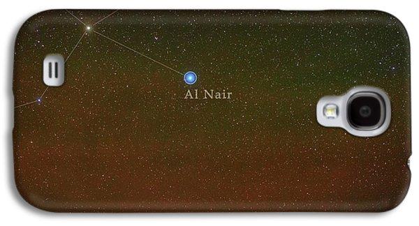Constellation Grus Galaxy S4 Case by Babak Tafreshi