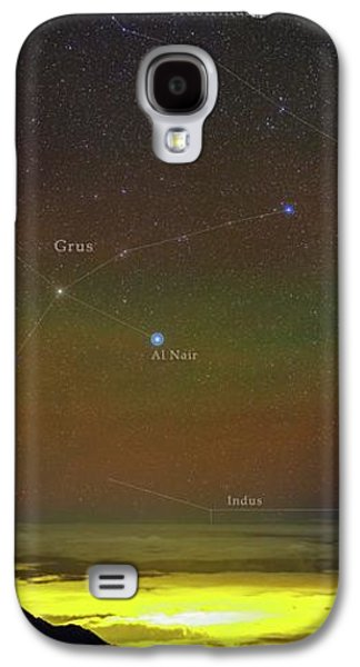 Constellations Over Clouds Galaxy S4 Case