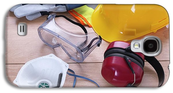 Construction Safety Equipment Galaxy S4 Case by Tek Image