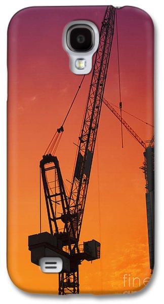 Construction Site Galaxy S4 Case by Jelena Jovanovic