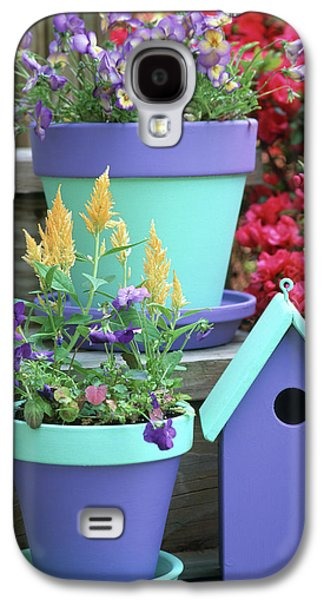Containers With Sorbet Yellow Delight Galaxy S4 Case by Richard and Susan Day