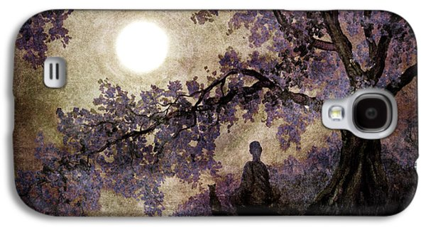 Contemplation Beneath The Boughs Galaxy S4 Case by Laura Iverson