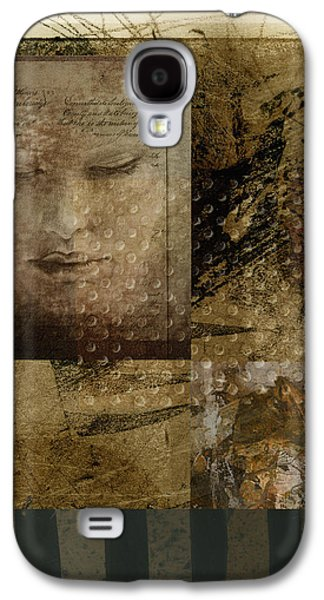 Contemplation In Sepia Galaxy S4 Case