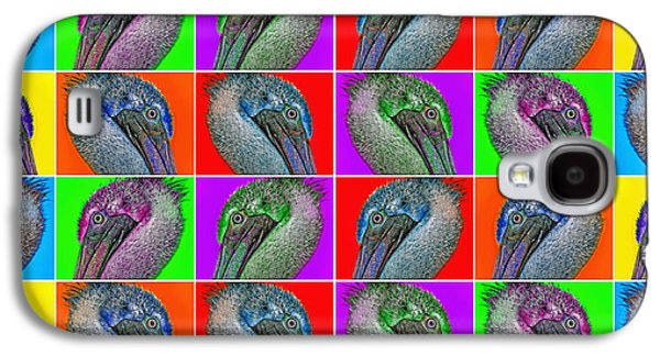 Contemporary Pelicans II Galaxy S4 Case by Betsy Knapp