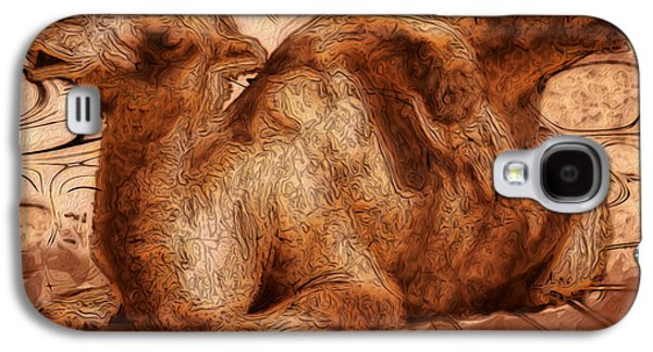 Content Galaxy S4 Case by Jack Zulli