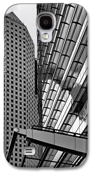 Continental Center I Houston Tx Galaxy S4 Case by Christine Till