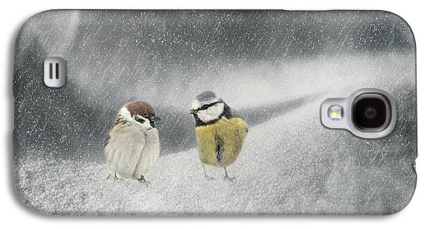Conversation In The Snow Galaxy S4 Case