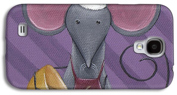 Cooking Mouse Kitchen Art Galaxy S4 Case by Christy Beckwith
