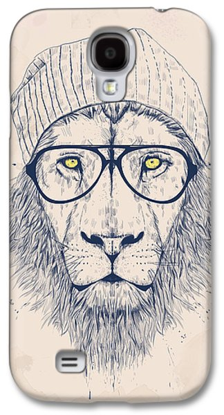 Cool Lion Galaxy S4 Case by Balazs Solti