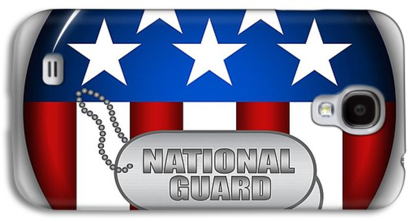 Cool National Guard Insignia Galaxy S4 Case