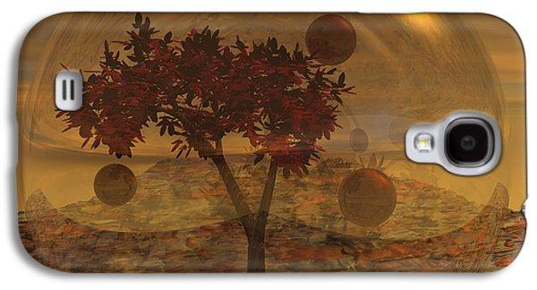 Copper Terrarium Galaxy S4 Case