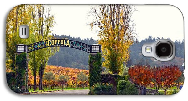 Coppola Winery Sold Galaxy S4 Case