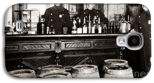 Cops At The Bar Galaxy S4 Case by Jon Neidert