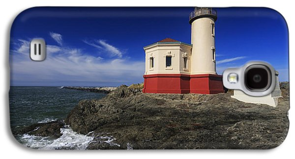 Coquille River Lighthouse 3 Galaxy S4 Case by Mark Kiver
