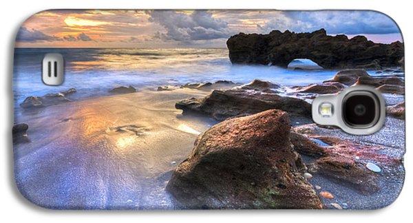 Coral Garden Galaxy S4 Case by Debra and Dave Vanderlaan