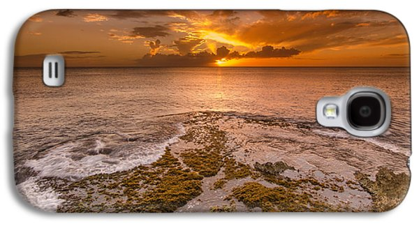 Coral Island Sunset Galaxy S4 Case