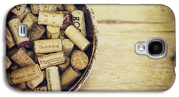 Cork Collection Galaxy S4 Case by Heather Applegate