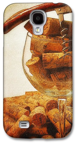 Corks And Elegant Corkscrew Galaxy S4 Case by Stefano Senise
