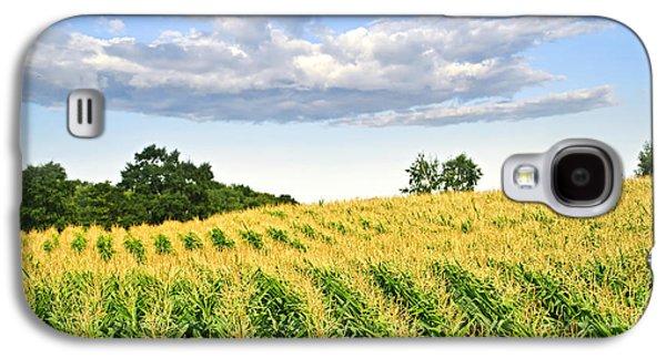 Corn Field Galaxy S4 Case by Elena Elisseeva