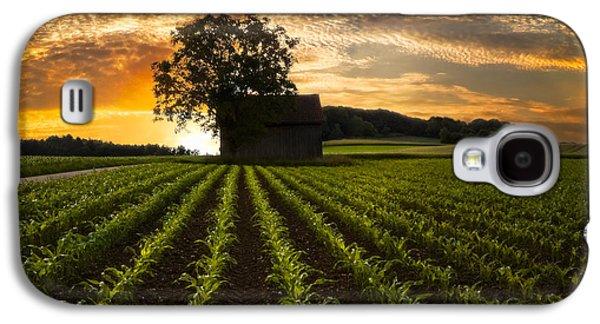 Corn Rows Galaxy S4 Case