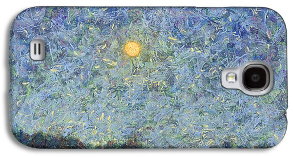 Cornbread Moon - Square Galaxy S4 Case by James W Johnson