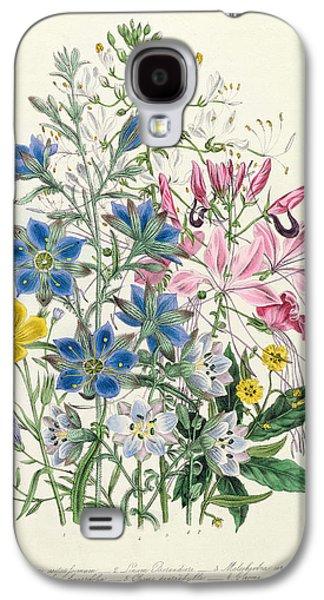 Cornflower Galaxy S4 Case by Jane Loudon