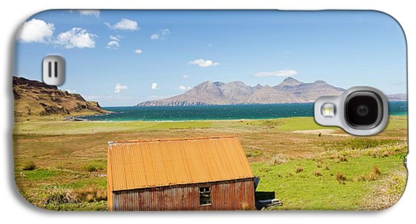 Corrugated Iron Barn At Cleadale Galaxy S4 Case