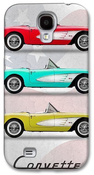 Corvette Collection Galaxy S4 Case by Mark Rogan