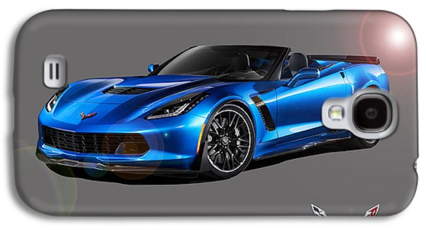 Corvette Z06 Convertible Galaxy S4 Case by Gregory Murray