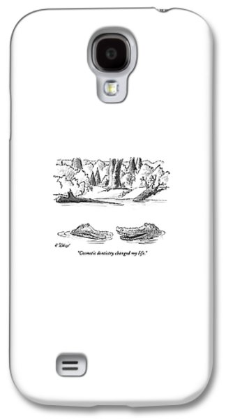 Reptiles Galaxy S4 Case - Cosmetic Dentistry Changed My Life by Peter Steiner