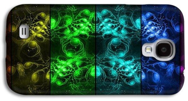 Cosmic Alien Eyes Pride Galaxy S4 Case