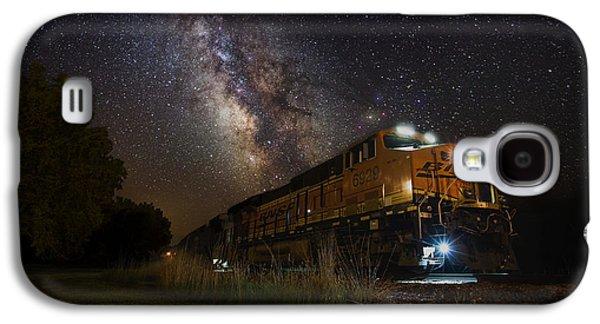 Cosmic Railroad Galaxy S4 Case