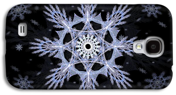 Cosmic Snowflakes Galaxy S4 Case