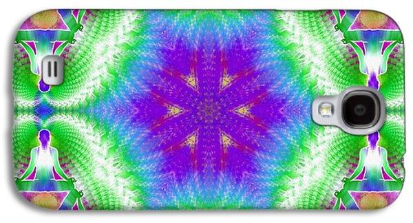 Cosmic Spiral Kaleidoscope 10 Galaxy S4 Case