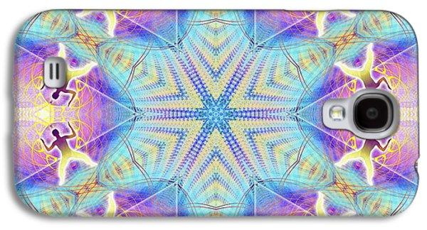 Cosmic Spiral Kaleidoscope 17 Galaxy S4 Case